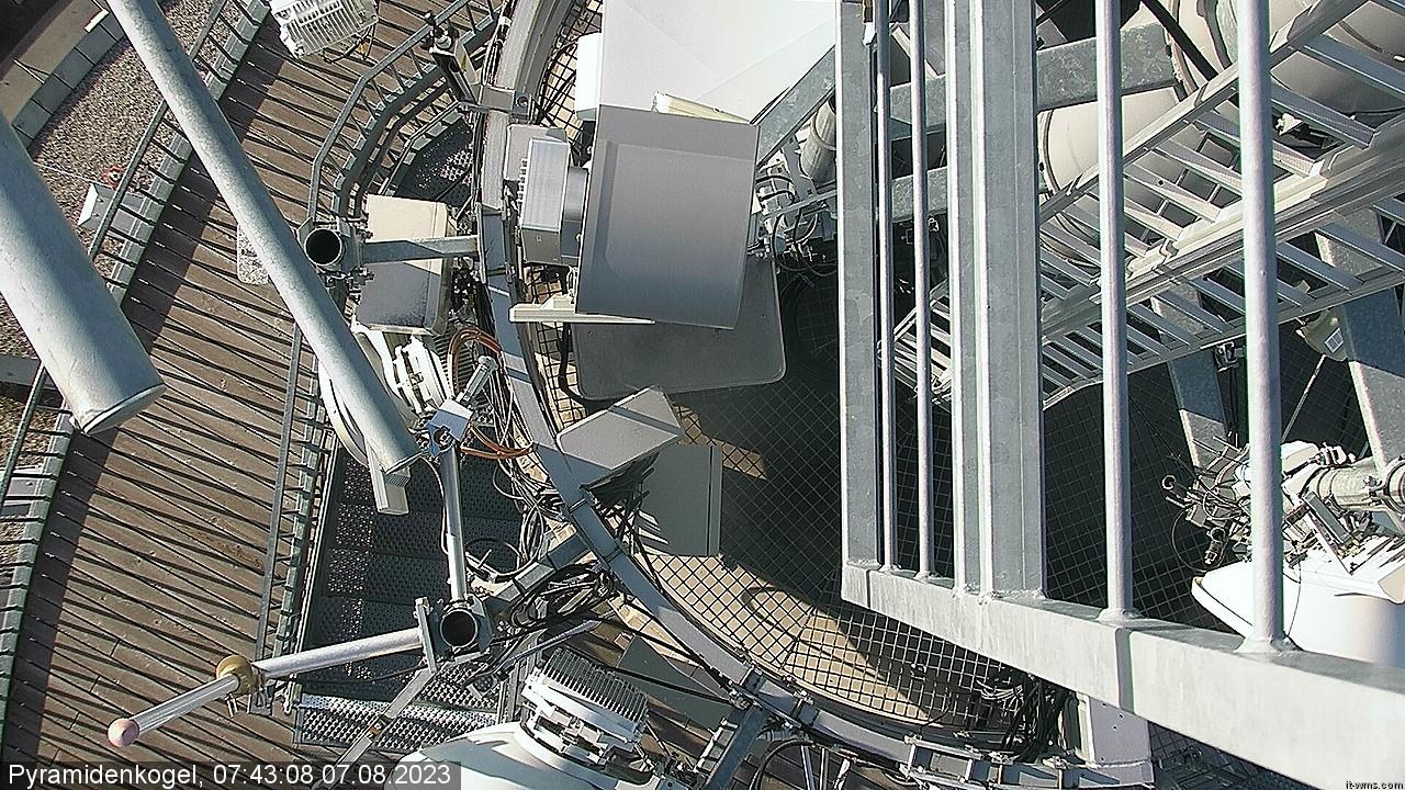 Livebild der Webcam vom Pyramidenkogel